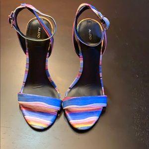 Aldo Shoes - NEW Aldo Multi Colored Sandal